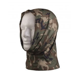 Multifunktionstuch Headgear Mil-Tec (Woodland)