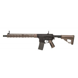 Gewehr Amoeba Pro Octarms M4-KM15 Dark Earth 6mmBB SAEG ab18