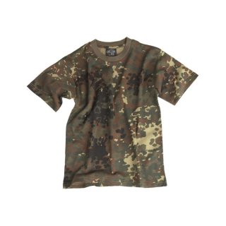 T-Shirt Kids Flecktarn (M 140)