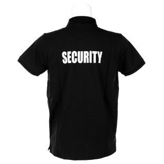 Poloshirt Security Stretch Schwarz (XXL)