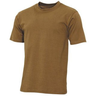 T-Shirt US Streetstyle 140g Coyote Tan Gr.XL