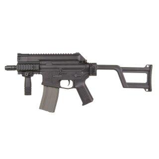 Gewehr Amoeba M4 CCR Black EFCS ARES 6mmBB SAEG ab18