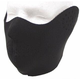 Gesichtsschutz-Maske Neopren Schwarz Winddicht