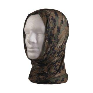 Multifunktionstuch Headgear (Digital Woodland)