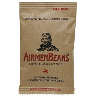 Pastillen Airmenbeans mit Koffein und Guarana 21Stck