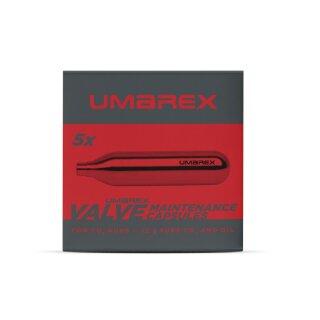 Wartungskapseln Umarex 12g Co2&Öl 5er Pack