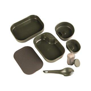 Campingset Wildo CAMP-A-BOX® 7-tlg. Kst. oliv