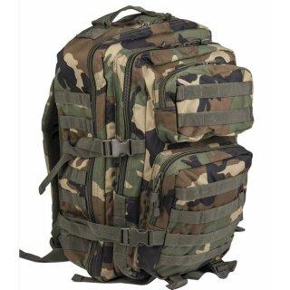 Rucksack US Assault Pack LG (Woodland)