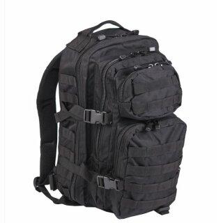Rucksack US Assault Pack SM (Schwarz)