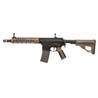 Gewehr Amoeba Pro Octarms M4-KM9 Dark Earth 6mmBB SAEG ab18