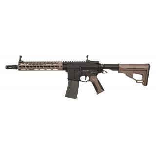 Gewehr Amoeba Pro Octarms M4-KM10 Dark Earth 6mmBB SAEG ab18