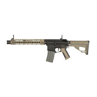 Gewehr Amoeba Pro Octarms M4-KM12 Dark Earth 6mmBB SAEG ab18