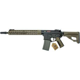 Gewehr Amoeba Pro Octarms M4-KM13 Dark Earth 6mmBB SAEG ab18