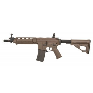 Gewehr Amoeba M4 AMSS Dark Earth 6mmBB SAEG ab18