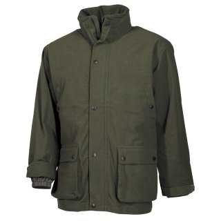 Outdoorjacke Poly Tricot Oliv (M)