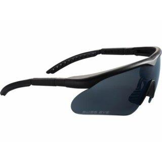 Schutzbrille Swiss Eye Raptor Schwarz Lens smoke