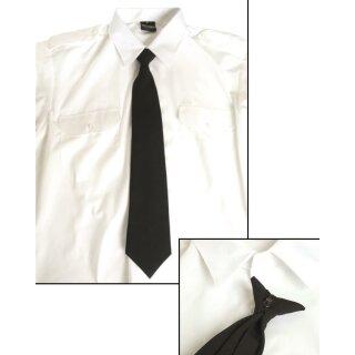 Krawatte Security Schwarz mit Clip