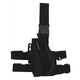 Pistolenholster Bein (Schwarz,Links)