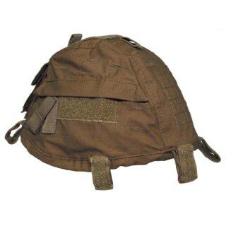 Helmbezug mit Taschen, größenverstellbar (coyote tan)
