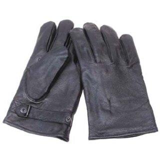 BW Lederhandschuhe gefüttert Grau XL/10