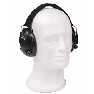 Gehörschutz Aktiv Schwarz