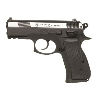 Luftpistole CZ 75D Compact 4,5mmBB Co2NBB ab18 Bbicolor/Metalslide