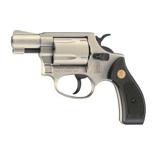 Revolver S&W Chiefs Special Nickel 9mmRK ab18