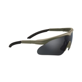 Schutzbrille Swiss Eye Raptor Olive Lens Smoke