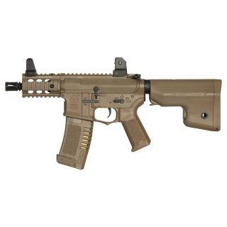 Gewehr Amoeba M4 007 Dark Earth EFCS 6mmBB ab18
