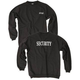 Sweatshirt Security Schwarz (M)