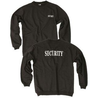 Sweatshirt Security Schwarz (XL)