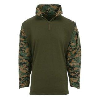 Tactical-Shirt UBAC Digital -Camo (XS)