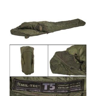Schlafsack Tactical 5 Oliv 230x80cm