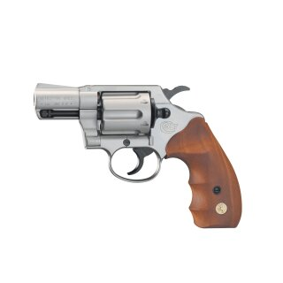 Revolver Colt Detective Special Nickel Holzgriff  9mmRK ab18