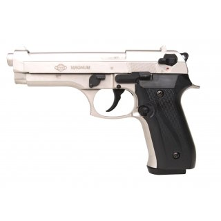 Pistole Firat Magnum Vernickelt 9mmPAK ab18