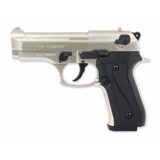 Pistole Ekol Firat Compact Bicolor Vernickelt 9mmPAK ab18