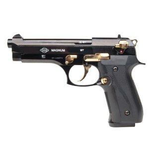 Pistole Ekol Firat Magnum Schwarz Gold 9mmPAK ab18
