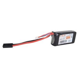 Akku Li-Po 11,1V 1200mAh 20C Block für Batterieboxen