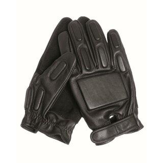 Handschuhe Security Gloves Leder Schwarz (9) L