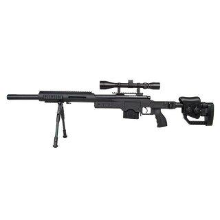 Snipergewehr MB4410D 6mmBB FD ab18 inkl.ZF+Zweibein 1,7J