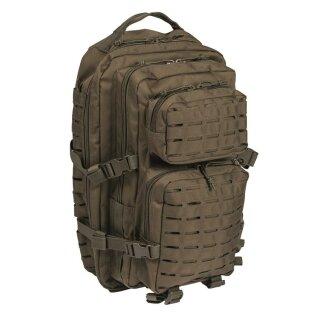 Rucksack US Assault Pack LG Laser Cut (Oliv)