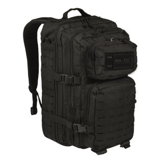 Rucksack US Assault Pack LG Laser Cut (Schwarz)