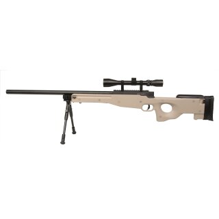 Snipergewehr GSG MB01 Tan 6mmBB FD inkl. ZF+ZB ab18