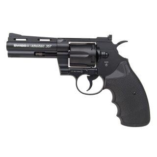Luftdruckrevolver Swiss Arms 357-4 4,5mmBB Co2NBB ab18